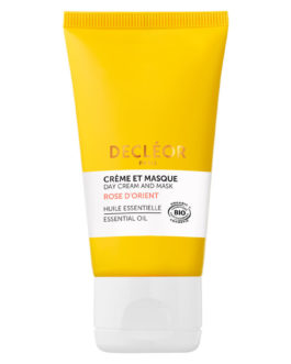 Day cream and mask rose damascena – Decleor