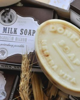 Σαπούνι με γάλα γαϊδούρας για άντρες – 90gr Natural