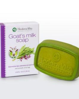 Σαπούνι με γάλα κατσίκας και φασκόμηλο – 65gr hand made