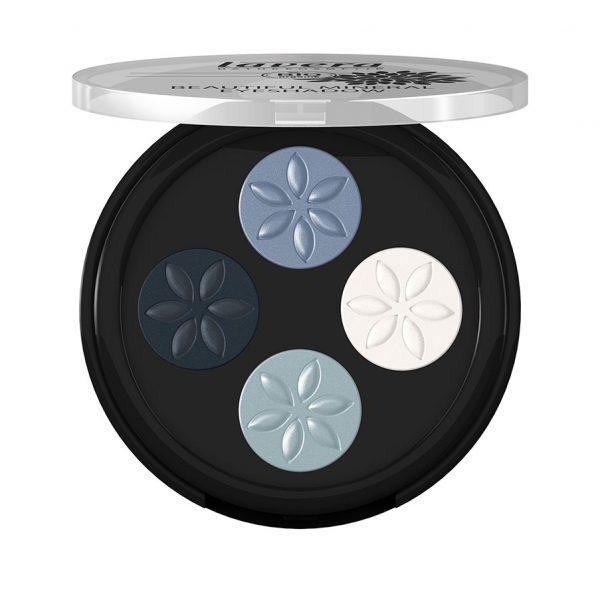 Τετραπλή Σκιά Νο.7 Blue Platinum 4×0,8g – Lavera