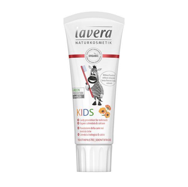Organic Παιδική οδοντόκρεμα Χωρίς Φθόριο 75ml – Lavera