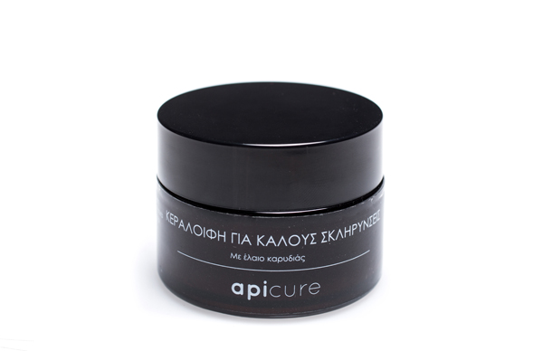 100% φυτική κρέμα κεραλοιφή για κάλους – apicure