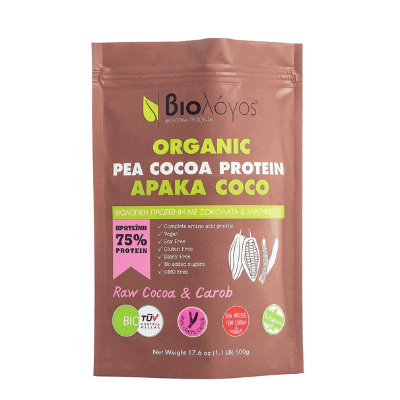 Βιολογική Πρωτεΐνη Αρακά Coco 500gr – Βιολόγος