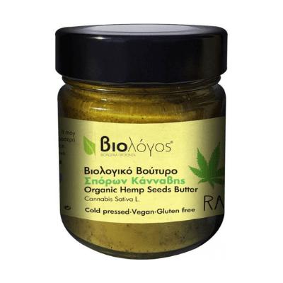 Βιολογικό Βούτυρο Σπόρων Κάνναβης 280gr – Βιολόγος
