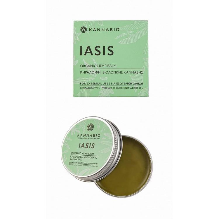 Κηραλοιφή Κάνναβης IASIS για δερματικές παθήσεις 30ml – Kannabio