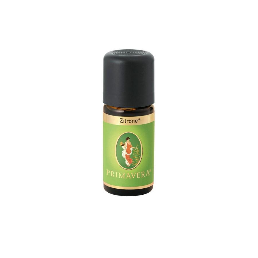Βιολογικό αιθέριο έλαιο λεμόνι 10ml – Primavera