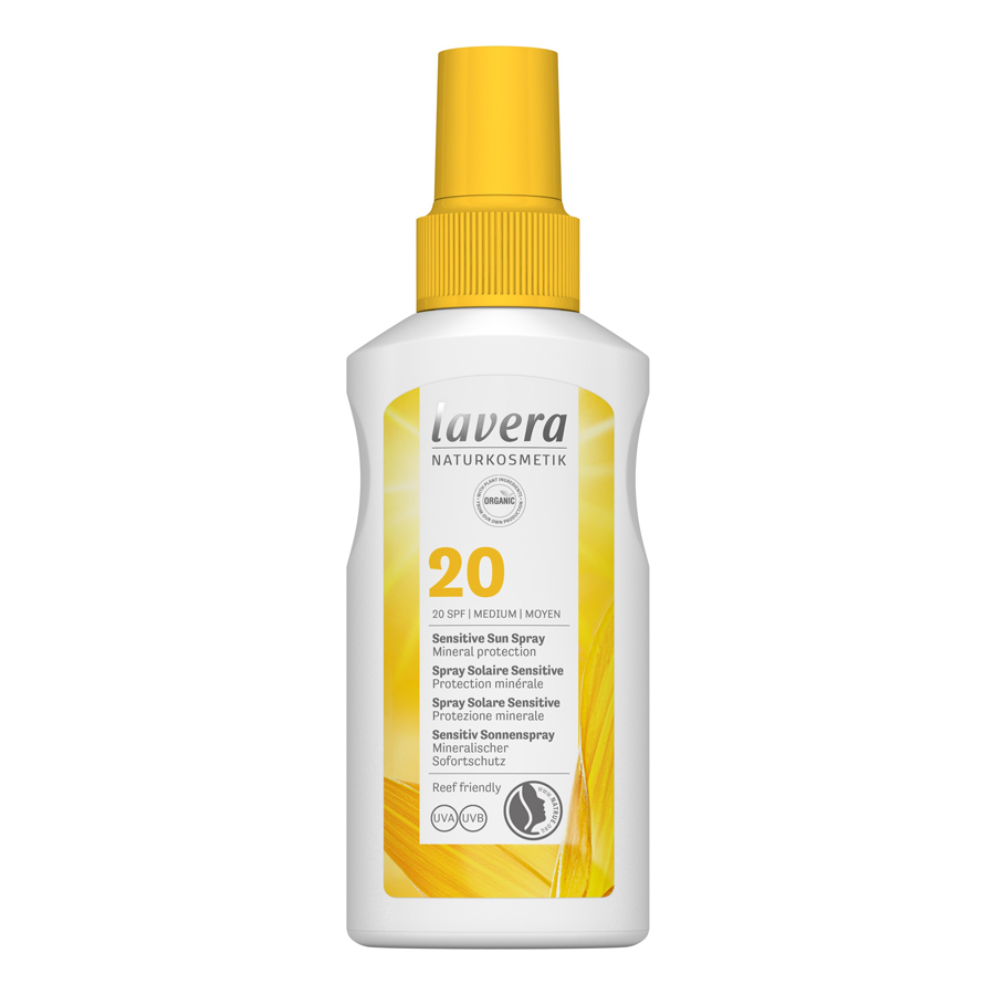 Αντηλιακό Sensitive Sun Spray SPF 20 100ml – Lavera