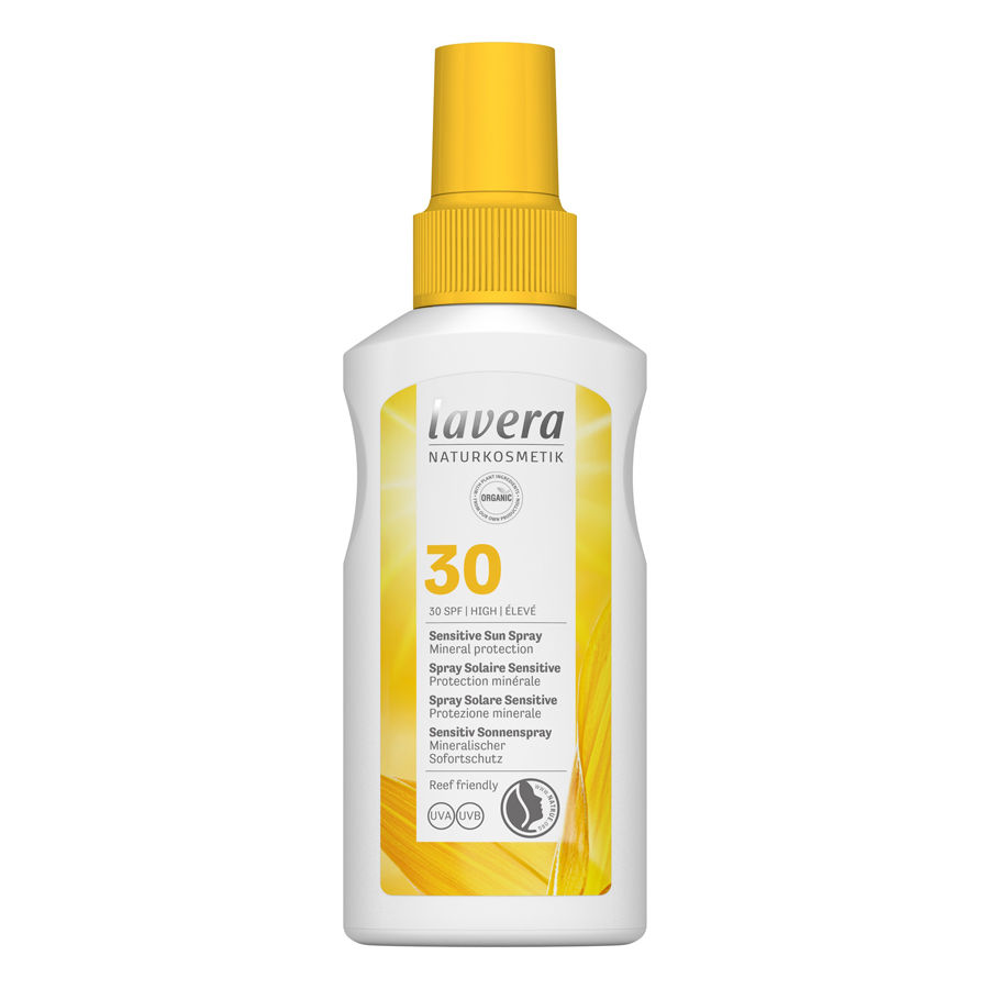 Αντηλιακό Sensitive Sun Spray SPF 30 100ml – Lavera