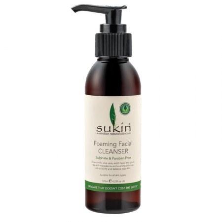Απαλό Αφρίζον Καθαριστικό Προσώπου 125ml – Sukin