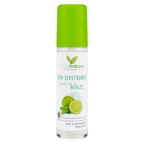 Αποσμητικό σπρέι Lime & Μέντα 75ml – Cosnature