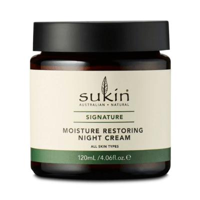 Επανορθωτική Κρέμα Νυκτός με Αγριοτριανταφυλλιά 120ml – Sukin