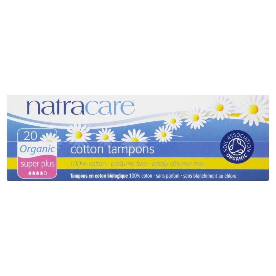 Ταμπόν για μεγάλη ροή (έξτρα απορροφητικότητα) 20τμχ – Natracare