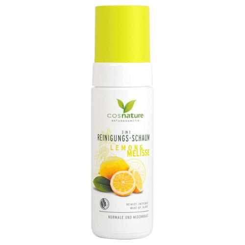 3σε1 Αφρός Καθαρισμού Προσώπου με Λεμόνι & Μελισσόχορτο 150ml – Cosnature