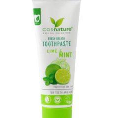 Οδοντόκρεμα Fresh Breath με Λάιμ & Μέντα 75ml – Cosnature