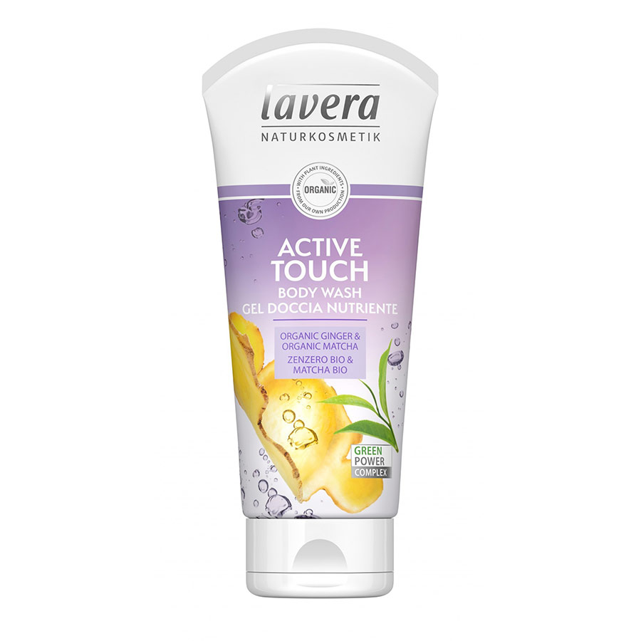 Αφρόλουτρο Active Touch 200ml – Lavera