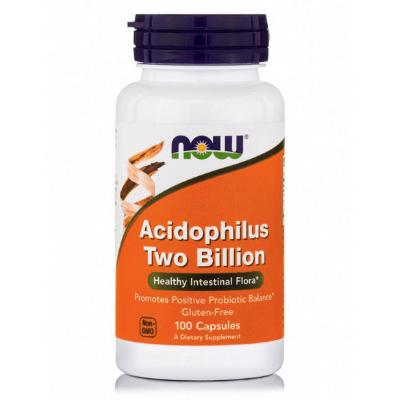 Προβιοτικά Acidophilus 2 Billion x100δισκία – NOW