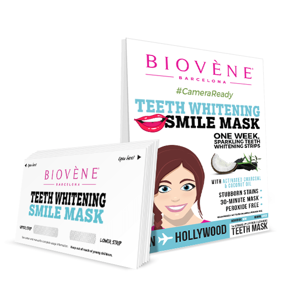 Μάσκα λεύκανσης δοντιών για λαμπερό χαμόγελο 2τμχ – Biovene