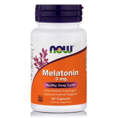 Μελατονίνη 3mg για το καρδιαγγειακό σύστημα x60δισκία – NOW