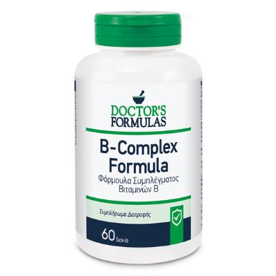 Βιταμίνη συμπλέγματος Β x60δισκία – Doctor's Formulas