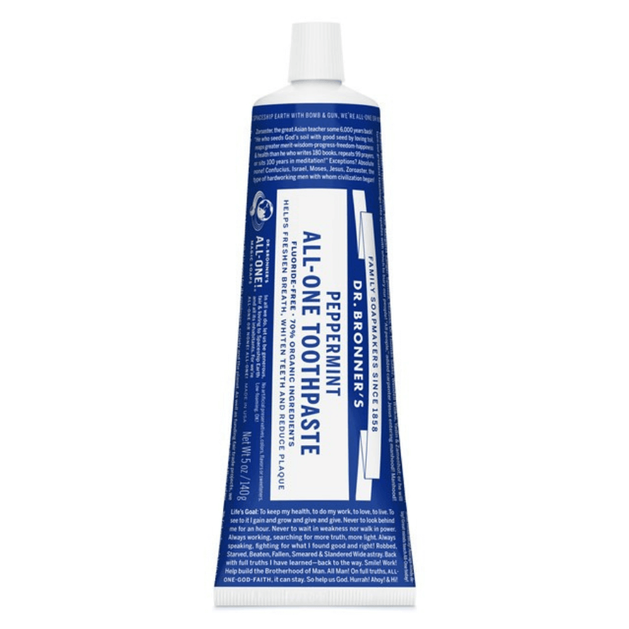 All-One Toothpaste 140gr – Dr. Bronner's
