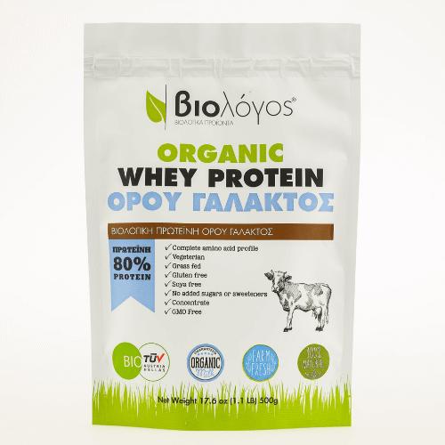 Βιολογική Πρωτεΐνη WHEY Ορού Γάλακτος 500g – Βιολόγος