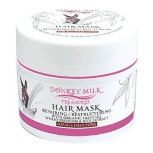 Επανορθωτική μάσκα μαλλιών με Γάλα γαϊδούρας 200ml  – Pharmaid