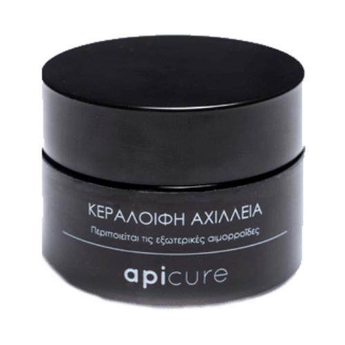 Αχίλλεια 100% Φυτική κρέμα (αιμορροΐδες) 30ml – Apicure