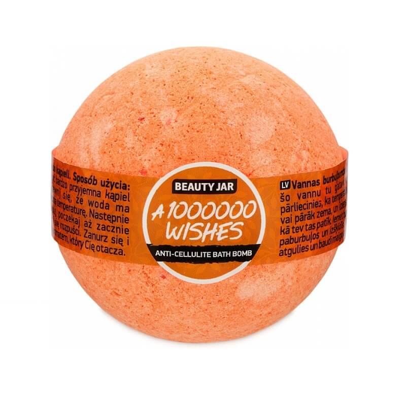 """A 1000000 WISHES"" bath bomb 150gr – Beauty Jar"