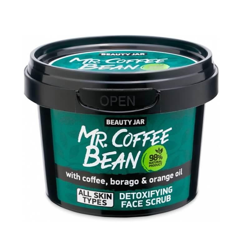 MR. COFFEE BEAN Scrub προσώπου για αποτοξίνωση 50gr – Beauty Jar