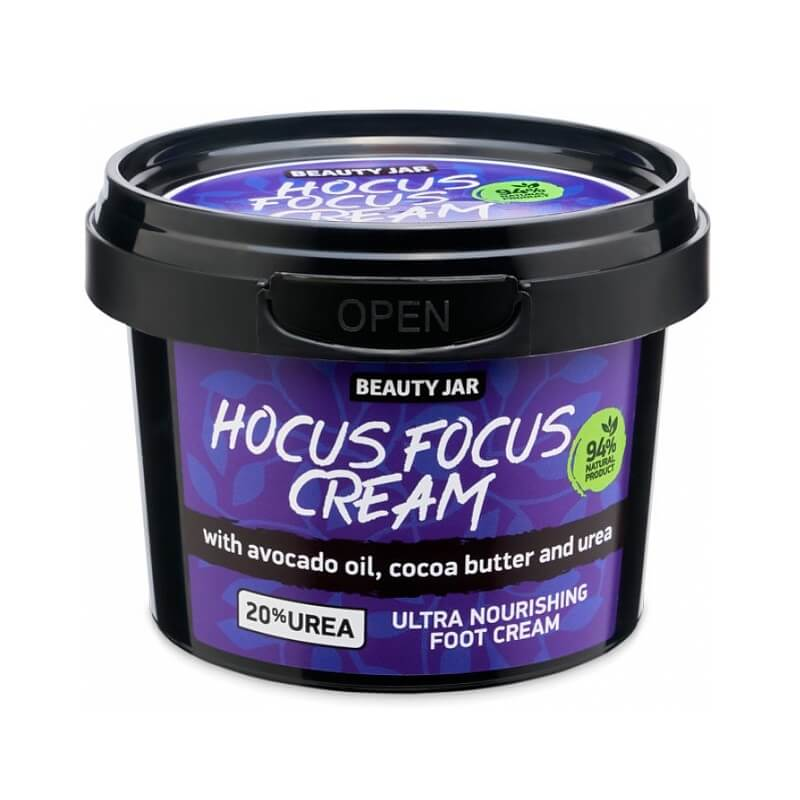HOCUS FOCUS CREAM Θρεπτική κρέμα ποδιών 100ml – Beauty Jar