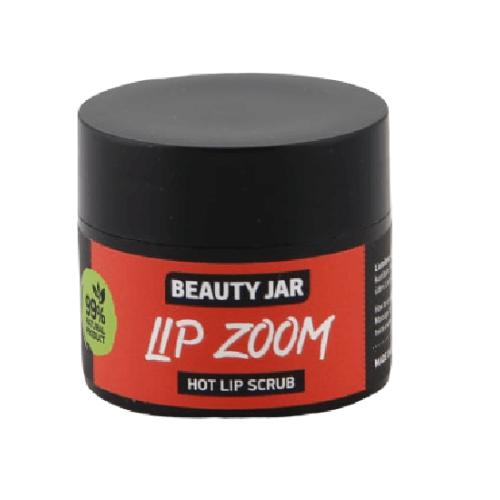 LIP ZOOM Ζεστό scrub χειλιών 15ml – Beauty Jar