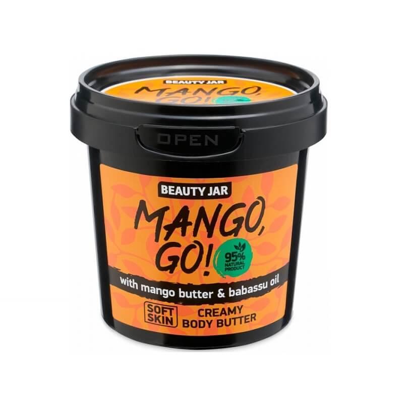 MANGO, GO! Κρεμώδες βούτυρο σώματος 135gr – Beauty Jar