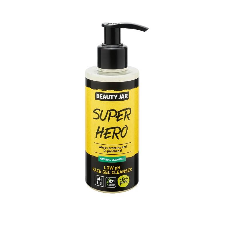 SUPER HERO Καθαριστικό gel με χαμηλό pH 150ml – Beauty Jar