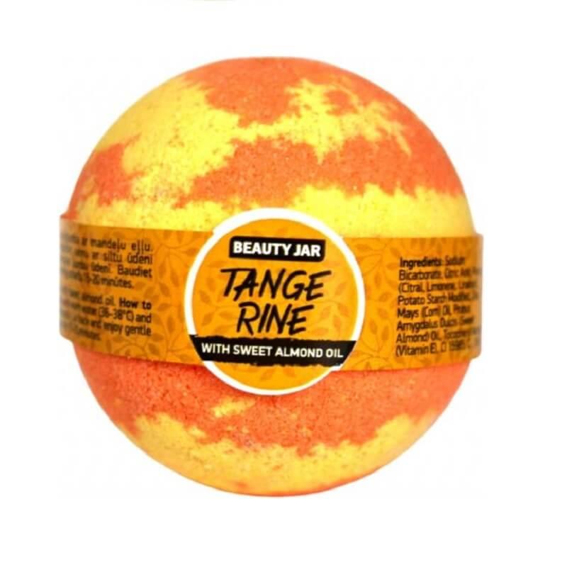 """TANGERINE"" bath bomb 150gr – Beauty Jar"