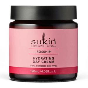 Ενυδατική Κρέμα Ημέρας με Αγριοτριανταφυλλιά 120ml – Sukin