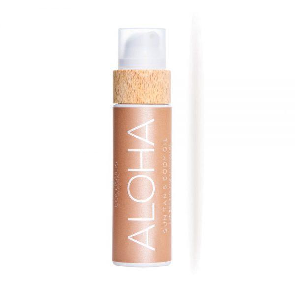 ALOHA Sun Tan Body Oil μαυριστικό 110ml- Cocosolis Organic