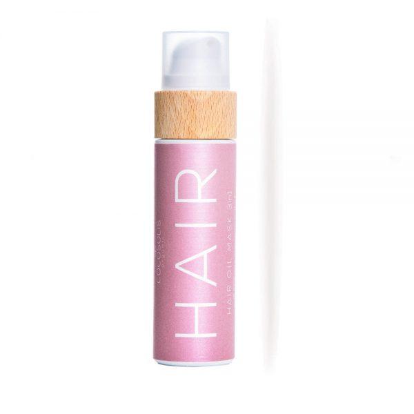 Αντηλιακό λάδι και μάσκα μαλλιών 3in1 μεταξένια λάμψη  110ml- Cocosolis Organic