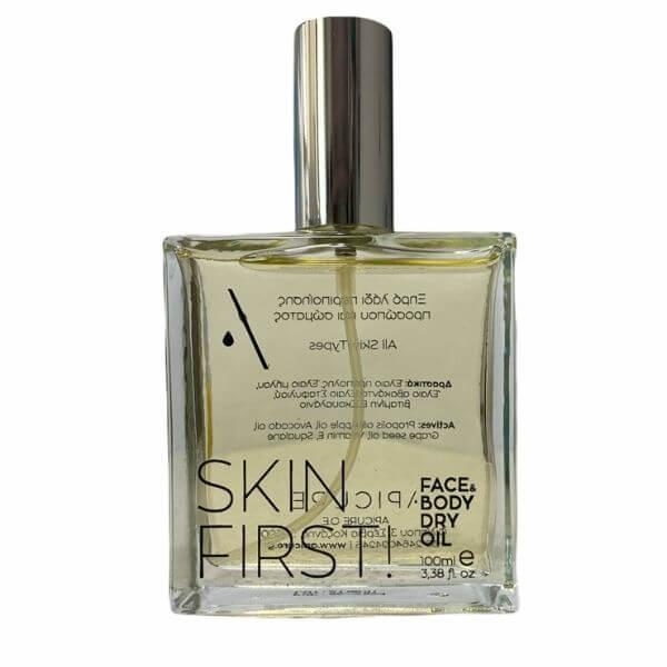 Skin First! – Ξηρό Λάδι Περιποίησης Προσώπου & Σώματος 100ml – Apicure